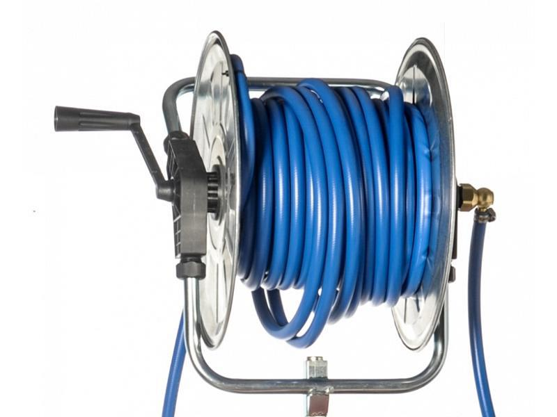 Hose reel for high pressure hose Sbaraglia